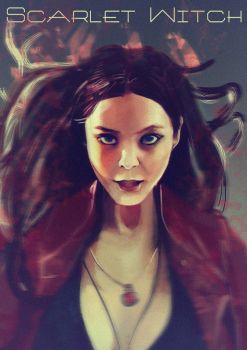 scarlet witch by tofusean