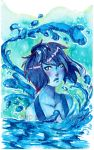 Wings of Water (Original Painting for SALE) by Meep-and-Mushrat