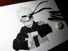 Uzumaki Naruto by Finihous