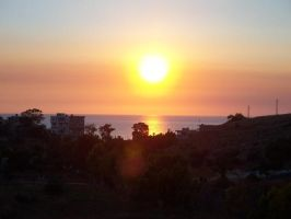 Lebanese Sunset by Kleepaa