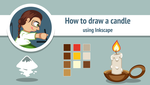How to draw a candle by AhNinniah