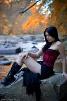 Jade at Sope Creek - V by DimHorizonStudio
