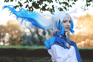 Legend of Korra cosplay: human Raava III by Adurnah