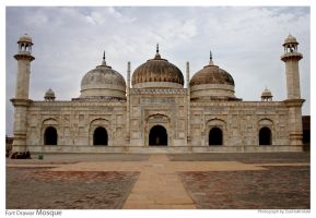 Fort Drawar Mosque 05 by ZaGHaMi