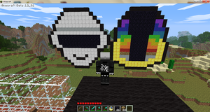 Daft Punk on Minecraft by Nyamsuren