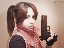 Claire Redfield cosplay RE DC by VickyxRedfield