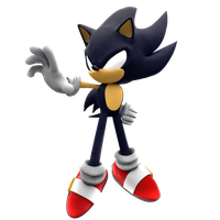 Dark Sonic Unlimited Force Render by NIBROCrock