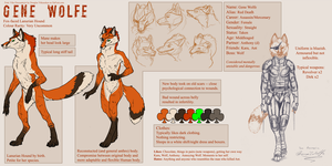Gene Referance Sheet by ObloquyCondemed
