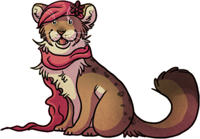 Deanna is a happy kitty by Plasticss
