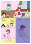 Day at the Creche Pt 2 by TamaeFTT