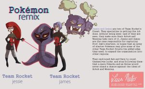 Pokemon Remix - Jessie and James by Spidersaiyan