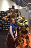 Eaten By Springtrap! @ MCMComicCon by Malbet