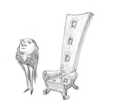 Count Chair Prop sketch by spliter