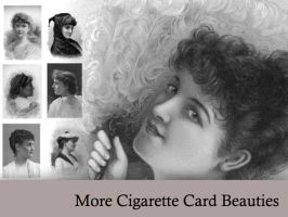 More Cigarette Card Beauties by remittancegirl