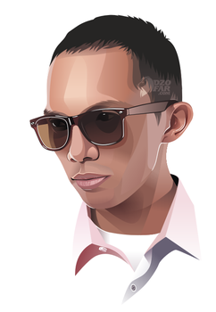 Vector Real Man with Glasses by ndop