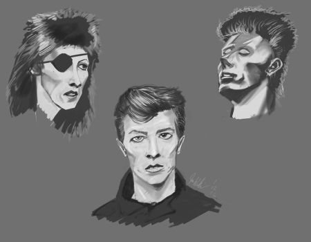 Bowie by Henskelion