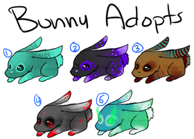 Bunny Adopts by Brixyfire