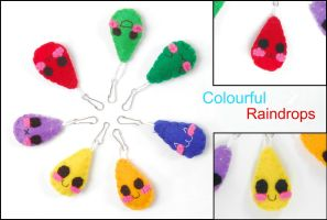Colourful raindrops by Tammyyy