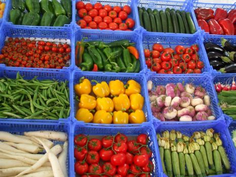 Vegetable Market 14120958 by StockProject1