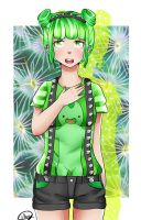 Cactus GIrl by littlemary08