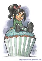 Wreck-It Ralph - Vanellope by MarcelPerez
