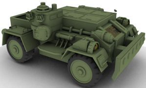 Military Vehicle texture phase by garetth