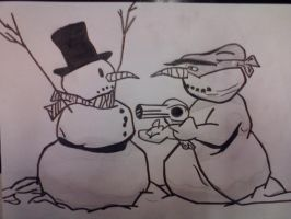 Snowmans by galis33