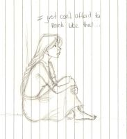 I can't afford to think like that by GaaBByy