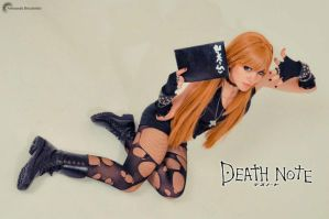 misa amane death note by neliiell