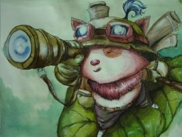Teemo by sp3los