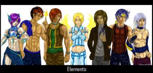 The Elements by DragonSapphire