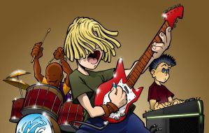 The Band by Inkthinker