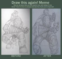 big daddy redraw! by DominicanFlavor