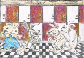 Bunny Bully by macdieter