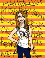 Hayley Williams paramore riot by roydraven777