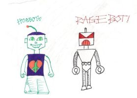 Robots by Raindroplet724