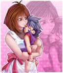 AT::. Sleep my baby by Priss-BloodEmpress