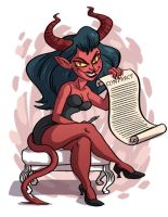 Devil girl by TRAVALE