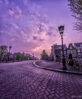 Amsterdam On A Quiet Morning by lensjourner