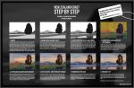 Steb by step tutorial - New Zealand Coast by WojciechFus