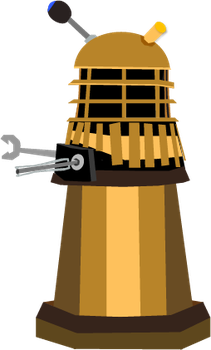 Doctor Who Dalek by Konpatchi