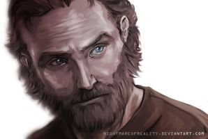 Rick Grimes by NightmareOfReality