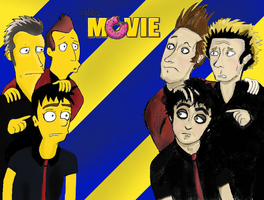 Green Day Simpsons by herotanzo