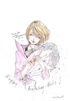 Thanks for always remembering me -hbd Alois by AissriKawaii