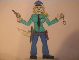 test/stand-alone pic: Officer Pawson - Furrybound by spyaroundhere35