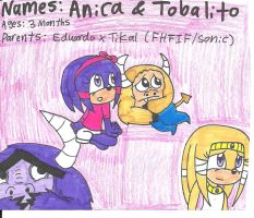 Cr-Kids: Anica and Tobalito by cmara