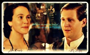 Downton Abbey- Sybil Crawley and Tom Branson by AngelaHayes