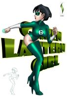 GREEN LANTERN GIRL by HD-2