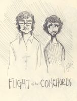 Flight of the Conchords by liliribs