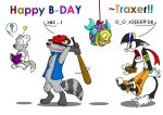 Happy B-Day Traxer by WinDasH